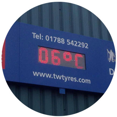 Templine LED Digital Temperature Display